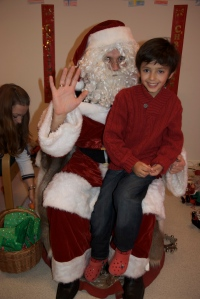 A and Santa